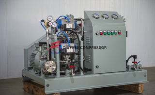 pang-industriya ng dalawang yugto wet co2 booster compressor para sa Supercritical extraction