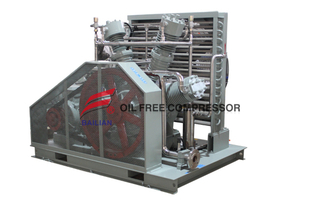 200bar Ballon Piston Helium Recovery Gas Compressor